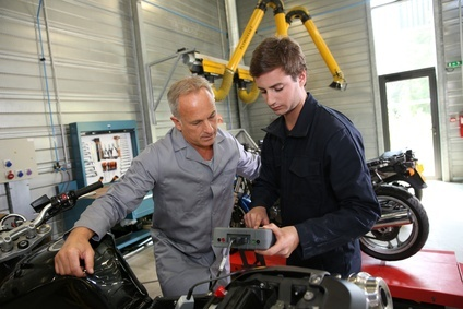 motorcycle mechanic training